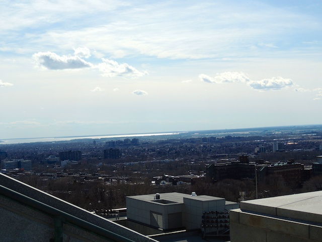 View of the city from St. Joseph's Oratory.