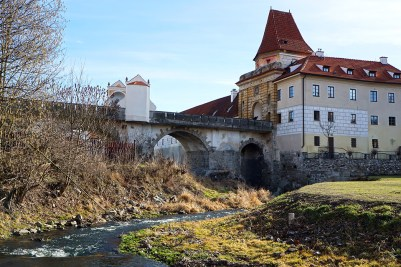 Entrance to Český Krumlov