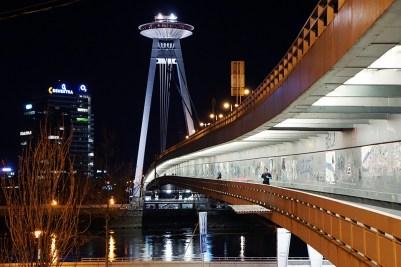 The UFO Bridge & Tower, Bratislava