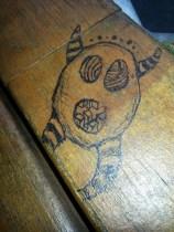 big mouth pen graffiti
