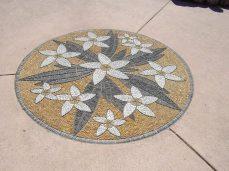 botanic gardens frangipani floor