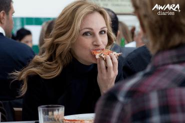 Elizabeth Gilbert (Julia Roberts) in Italy! -Eat Pray Love