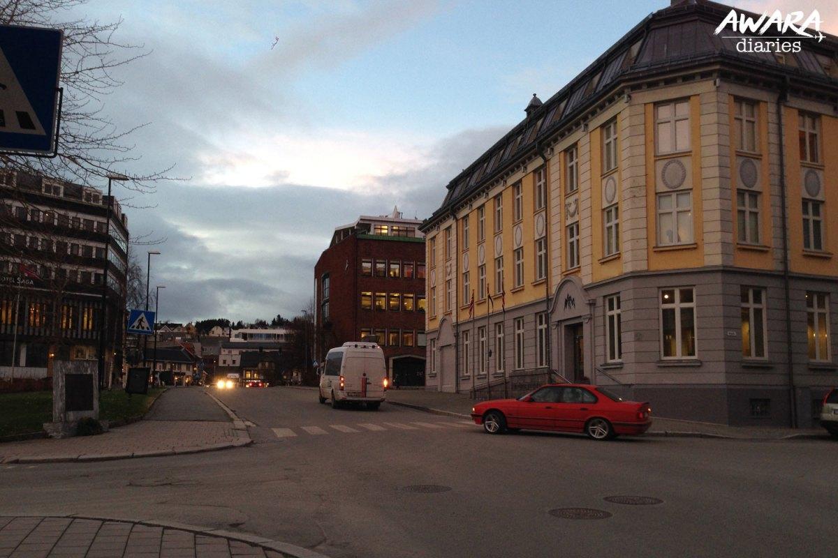 Streets of Tromso