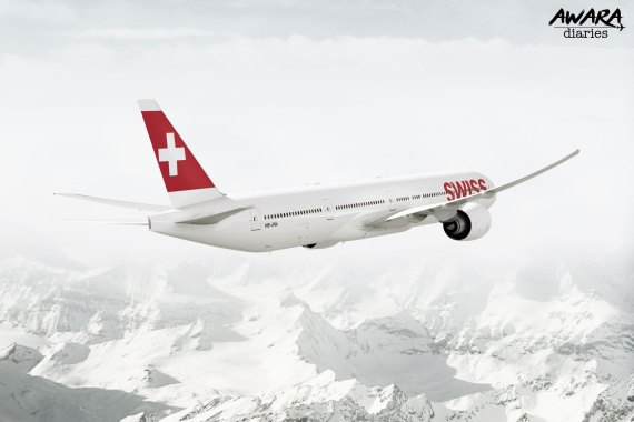 SWISS: An Airline Which Is Smooth Like Swiss Cheese