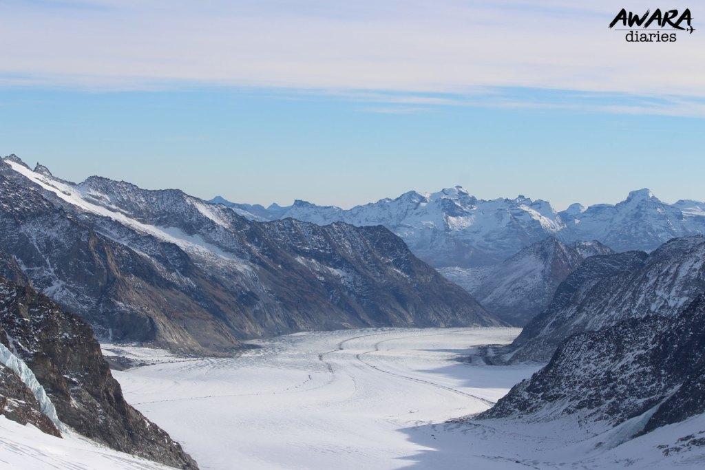 Jungfraujoch Top view 3