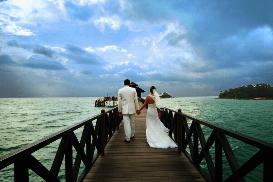 It's always a happily ever after story at Bintan!