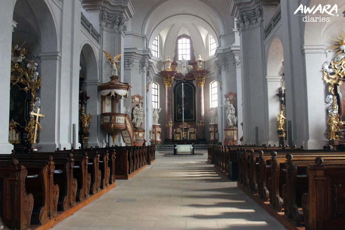 Tvar Church Litomysl