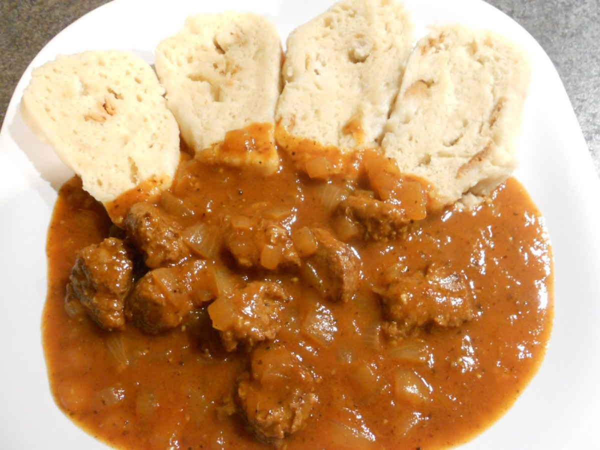 4. Creamy Chicken Paprika with Potato Dumplings