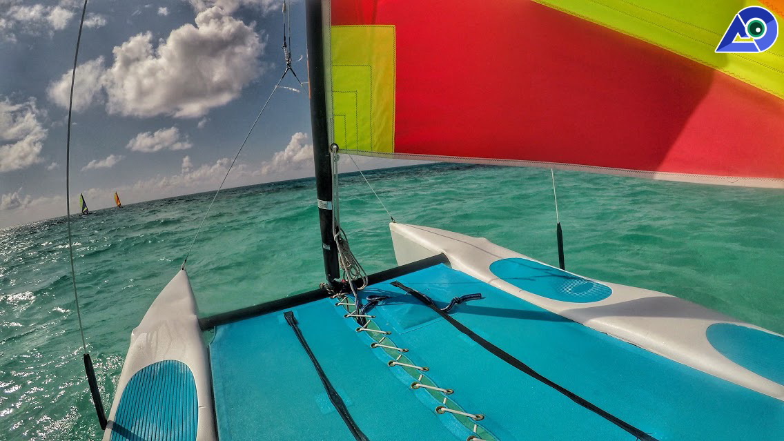 Sailing at Club Med Kani Maldives