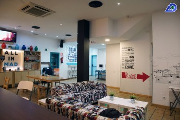 Review: All In MAD Hostel, Madrid