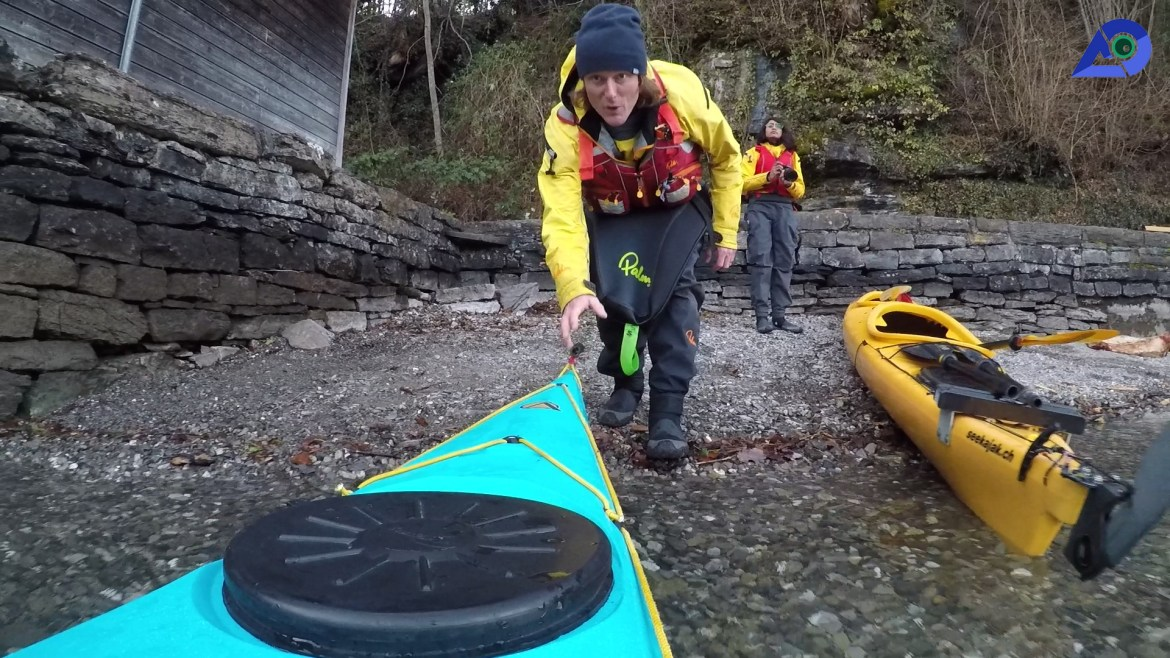 Winter Kayaking with Dave