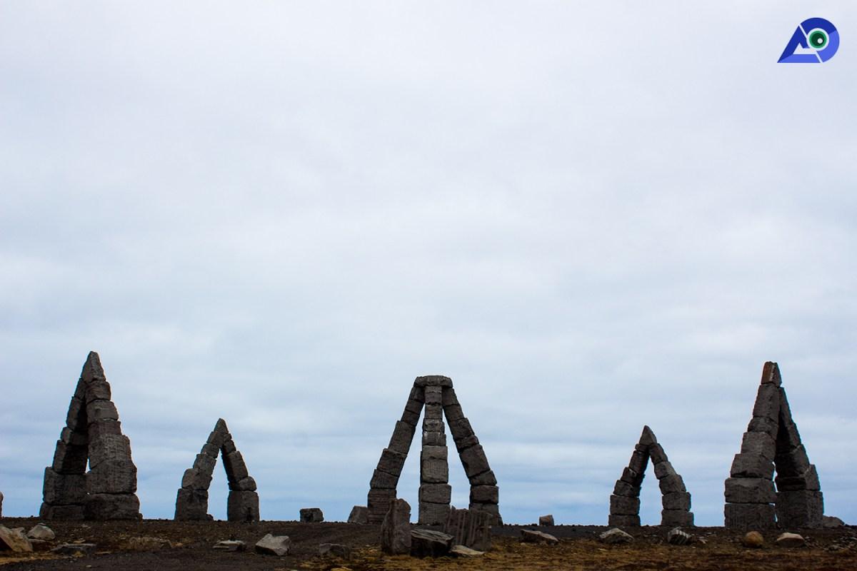 The Arctic Henge,Raufarhöfn 1