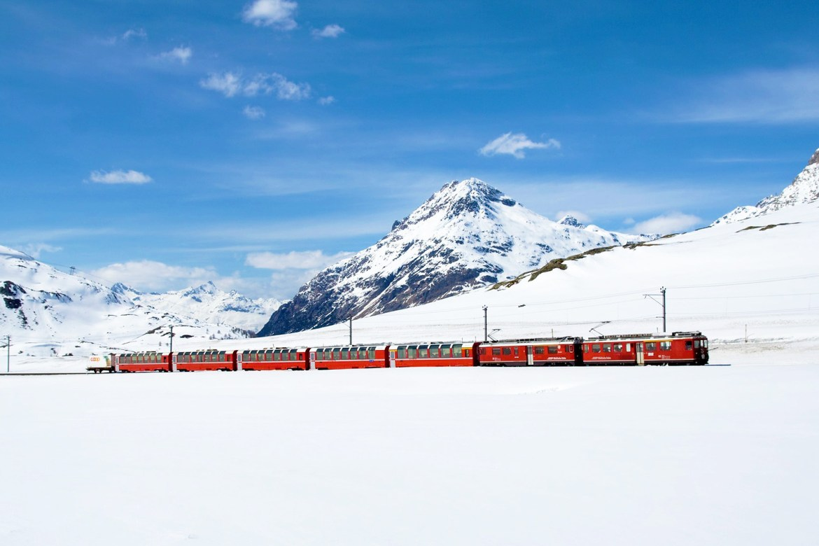 Bernina Express, Swiss