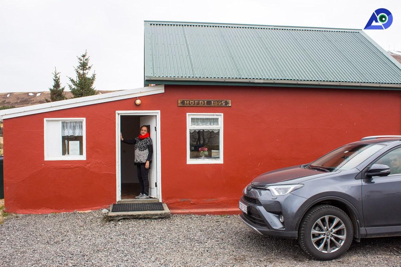 Höfði Guesthouse,Húsavík (North Iceland)
