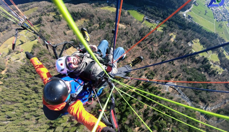 Paragliding In Interlaken Is The Ultimate Experience