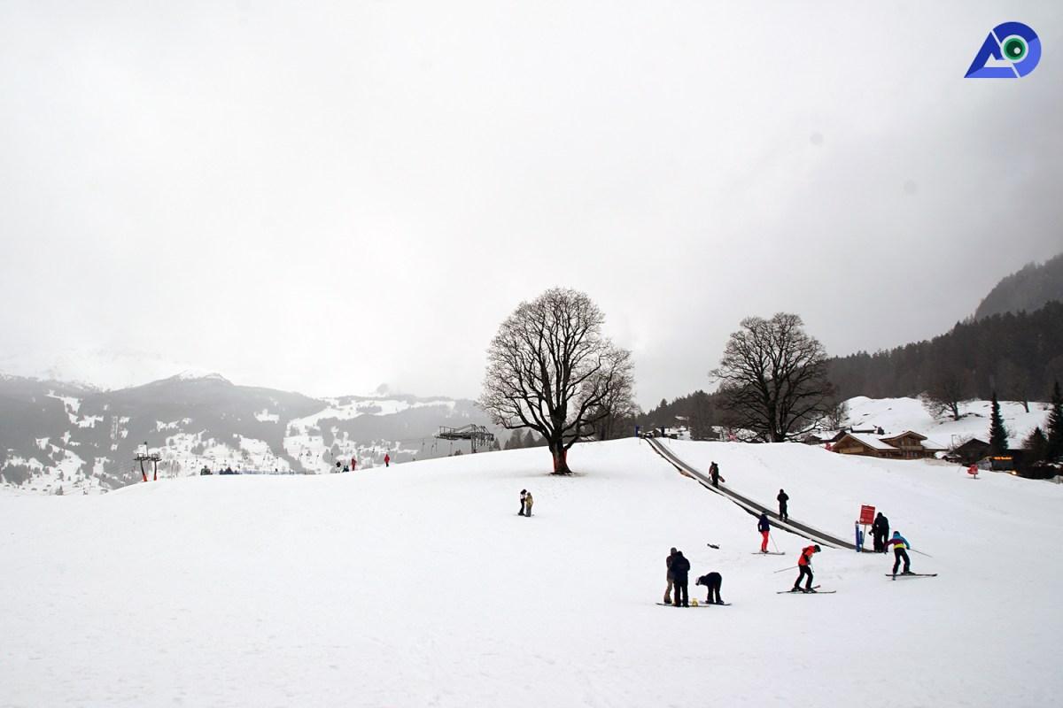 Skiing in Switzerland 5