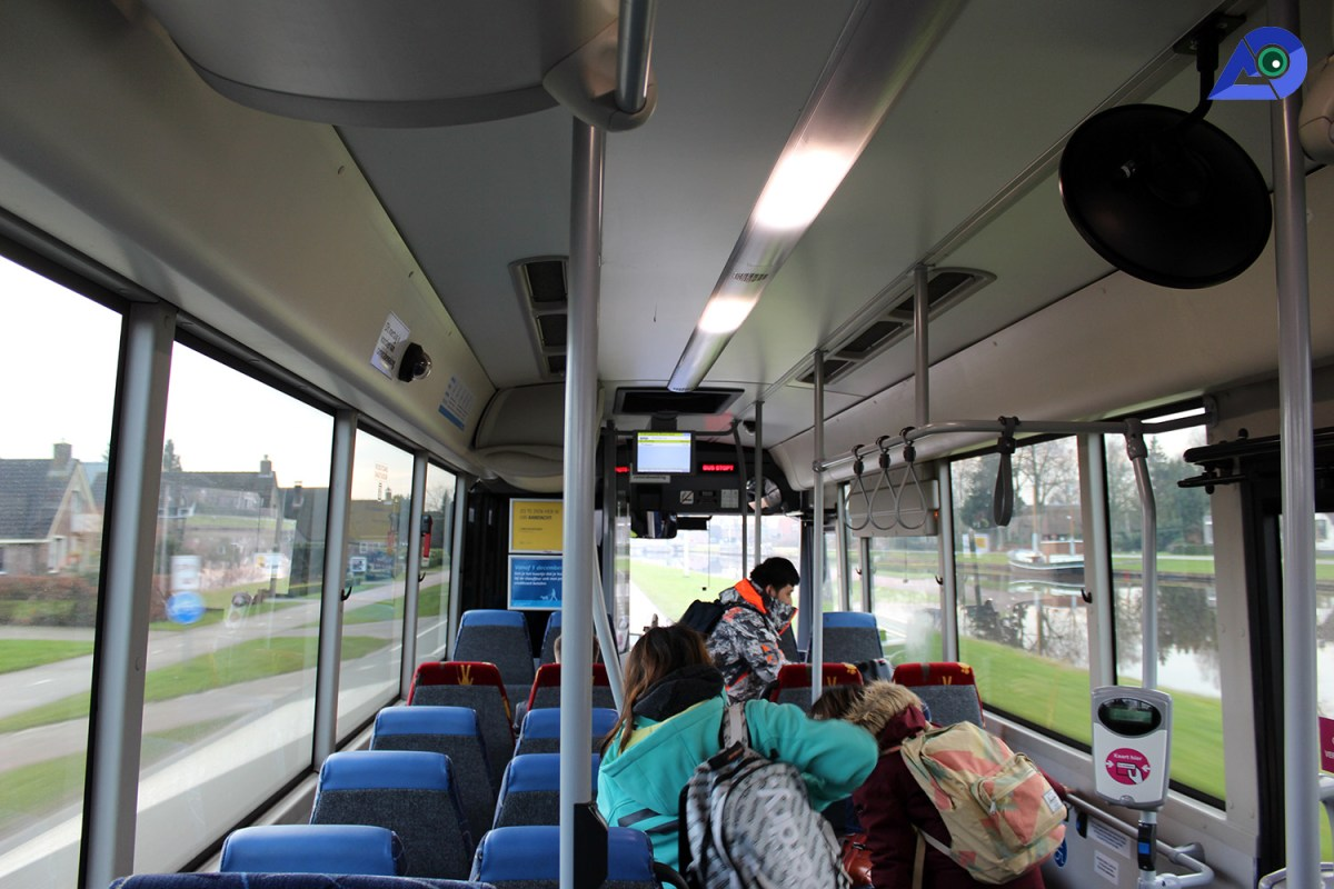 Bus to Giethoorn