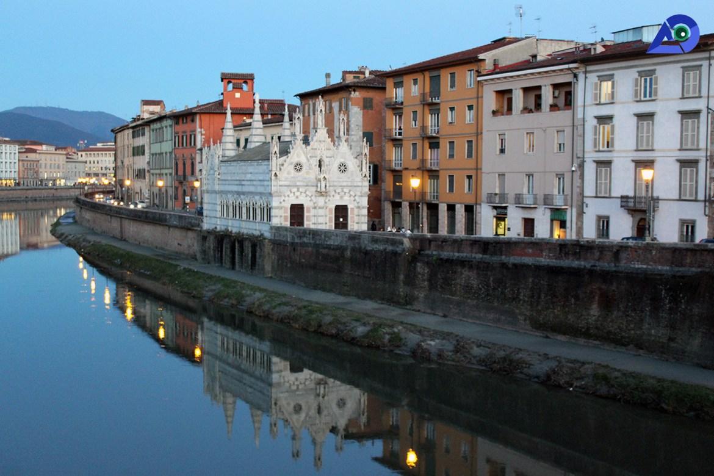 Arno River Pisa 1