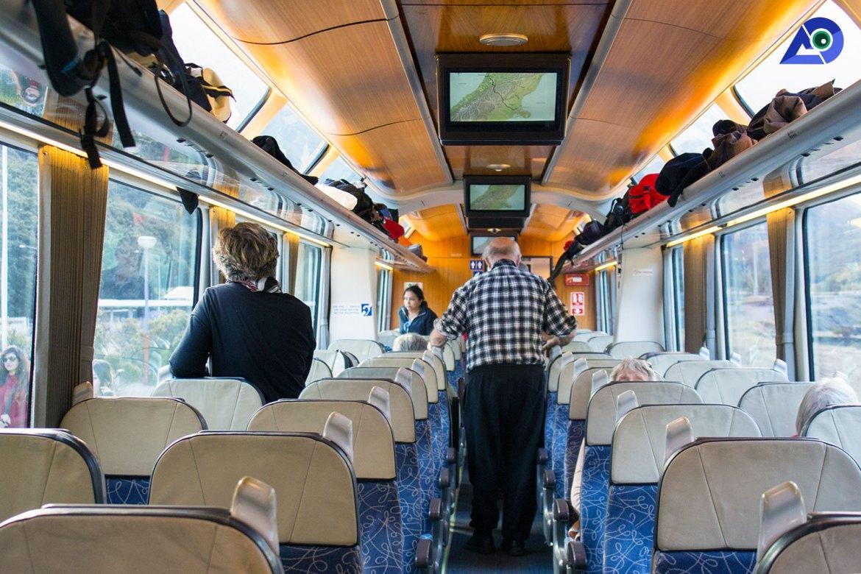 Comfortable Seats On Board TranzAlpine