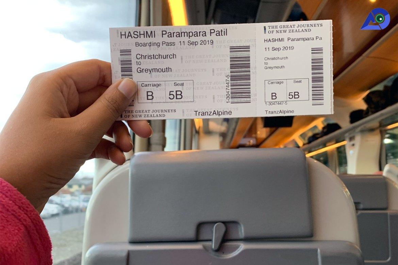 TranzAlpine Ticket
