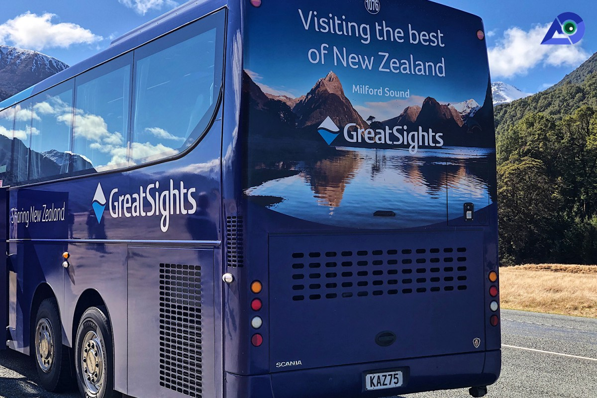 Great Sights Bus Milford Sound Cruise