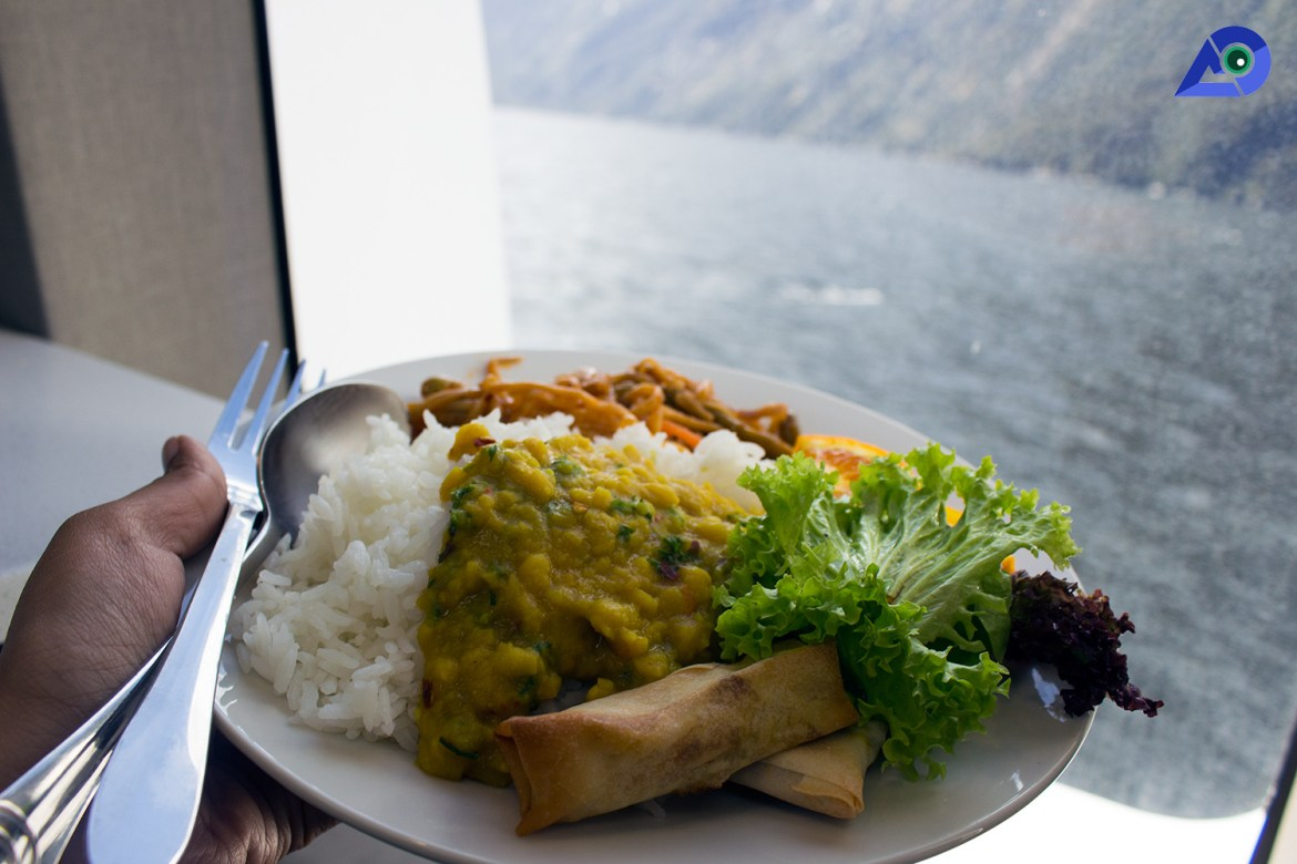 Milford Sound Lunch