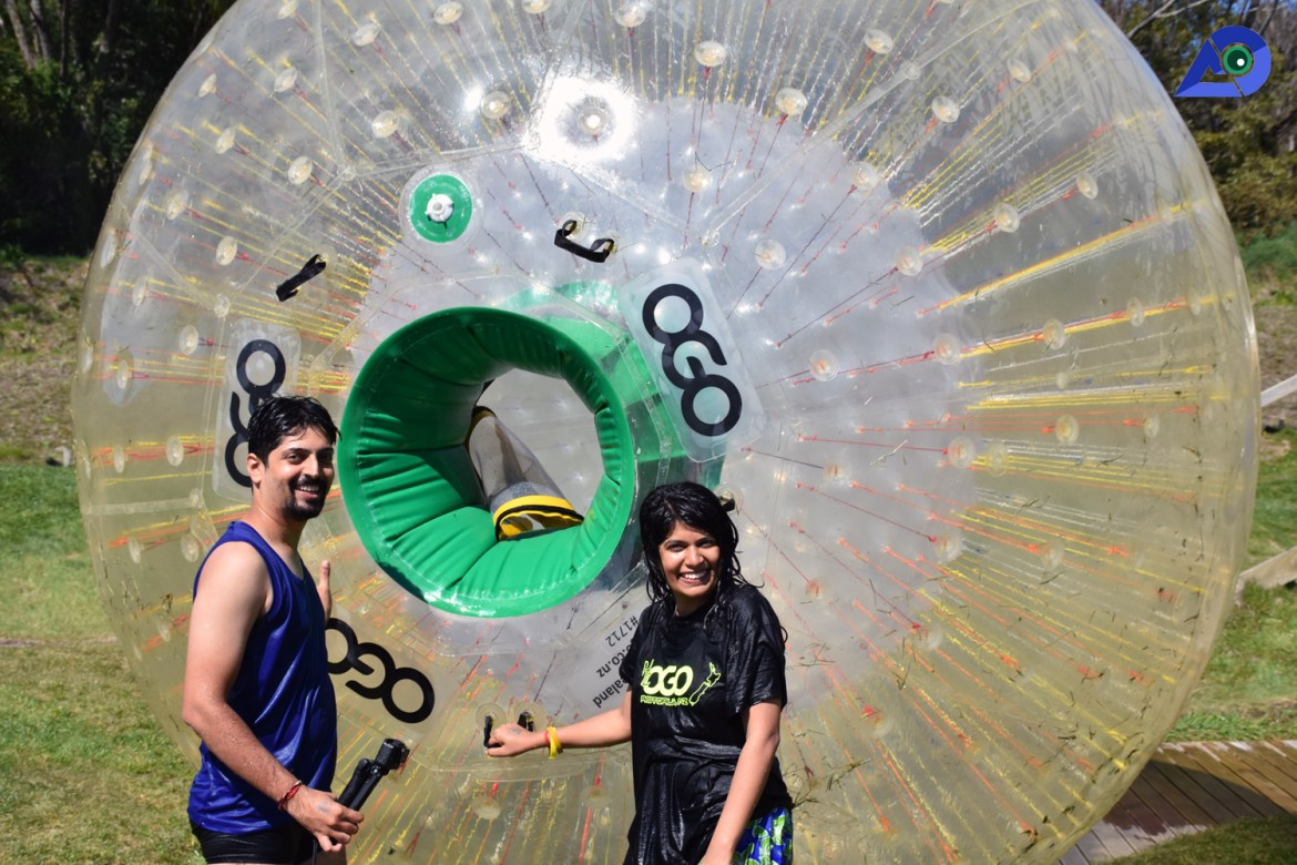 Pictures at ZORB Rotorua