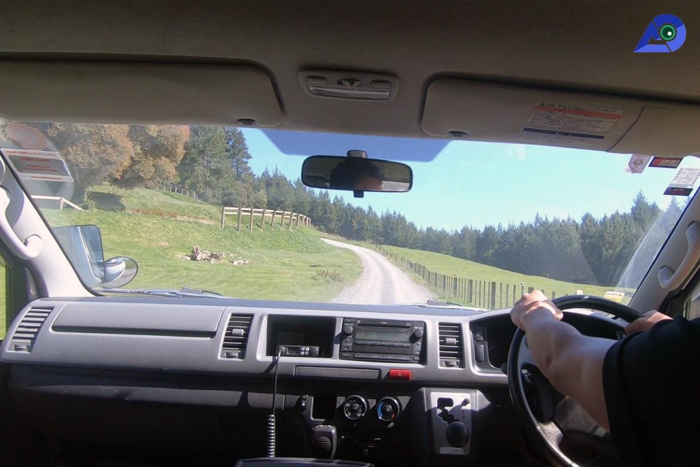 Van at ZORB Rotorua