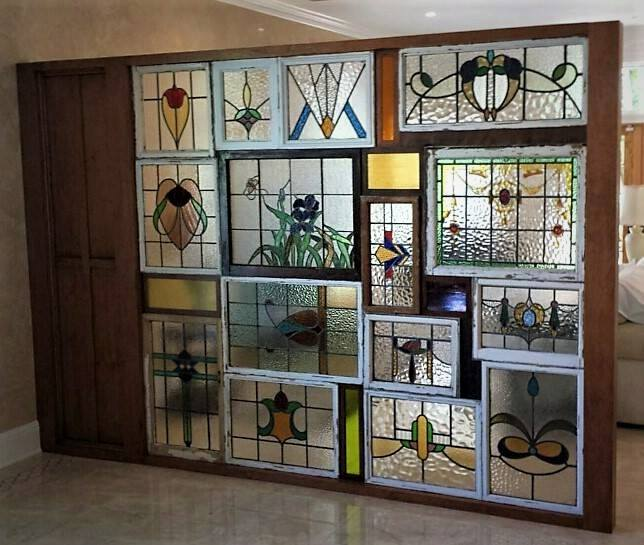 Room Dividers Stained Glass Wall A Ward Design