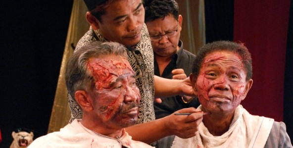 The Act of Killing, one of 151 eligible documentaries for the Oscar this year.