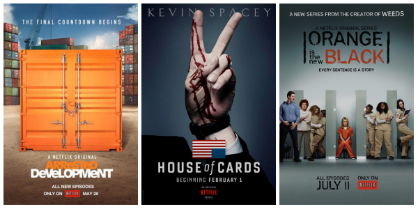 Netflix ruled the Globes with Arrested Development, House of Cards and Orange is the New Black