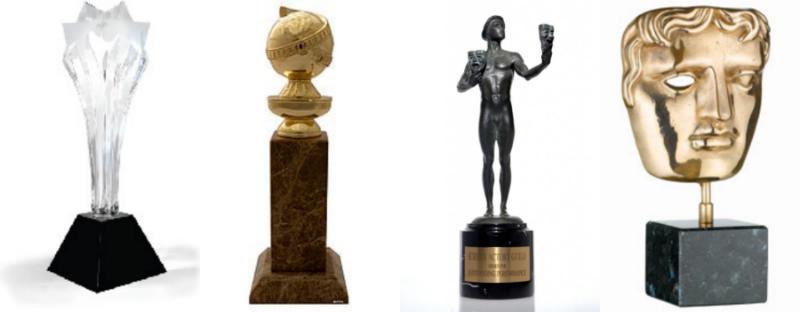 BFCA+GG+SAG+BAFTA