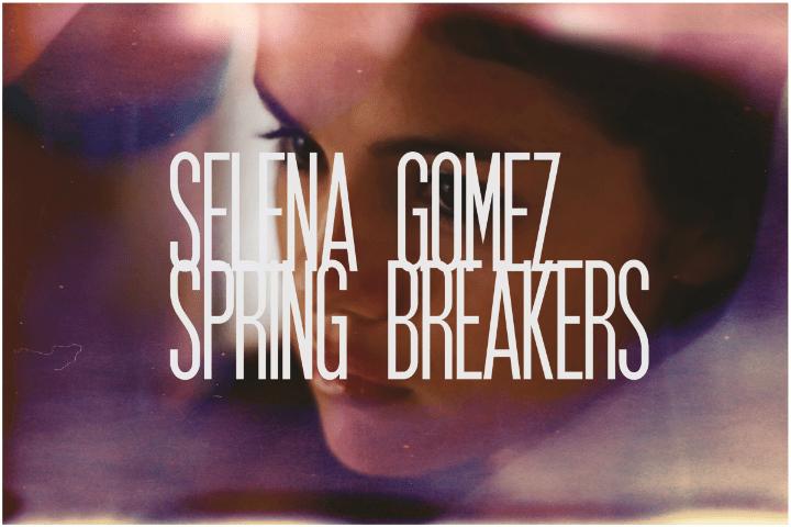 50. Selena Gomez, Spring Breakers