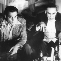 Johnny Depp and Martin Landau in Ed Wood