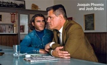 Joaquin Phoenix and Josh Brolin in Inherent Vice
