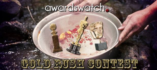 Gold Rush Contest logo banner