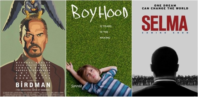 Birdman, Boyhood and Selma dominate the 30th Film Independent Spirit Awards nominations