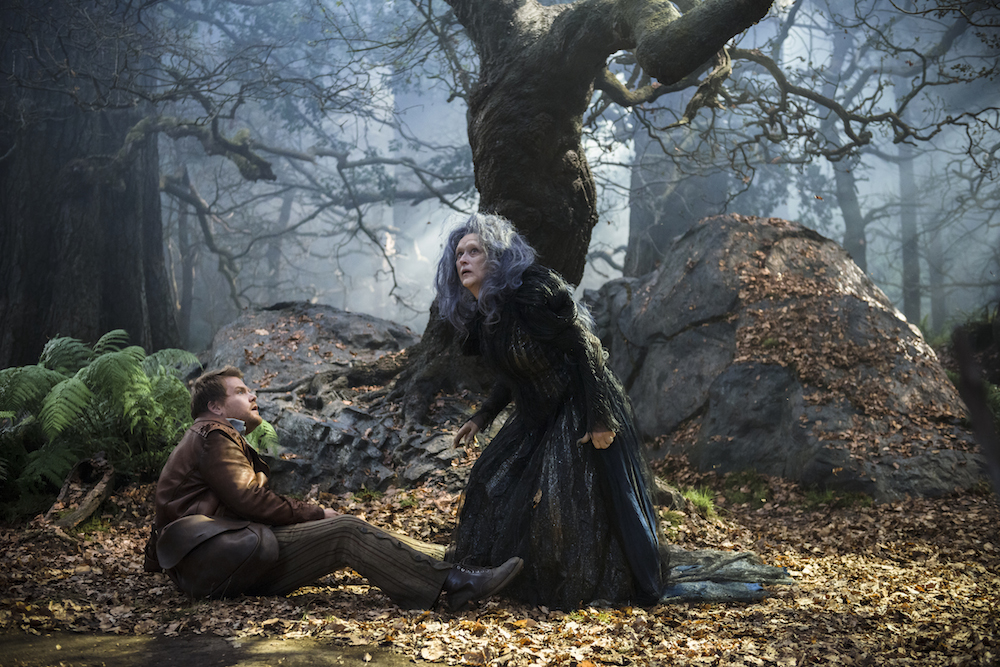 James Corden and Meryl Streep go Into the Woods