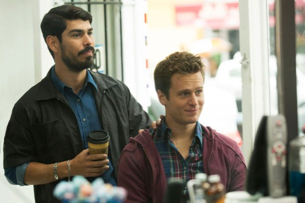 From left; Richie (Frankie J. Alvarez) and Patrick (Jonathan Groff) in Looking's final cut