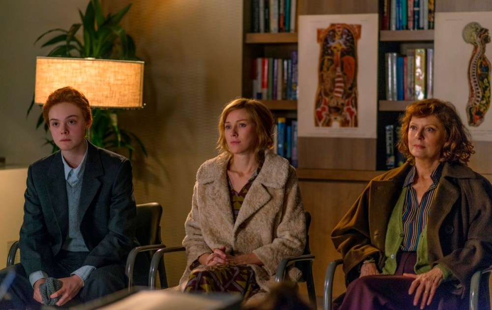 Elle Fanning, Naomi Watts and Susan Sarandon in ABOUT RAY