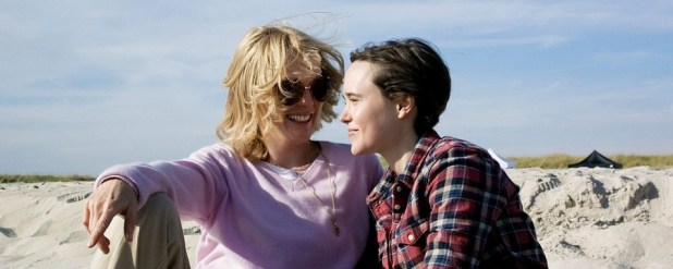Julianne Moore and Ellen Page in 'Freeheld'