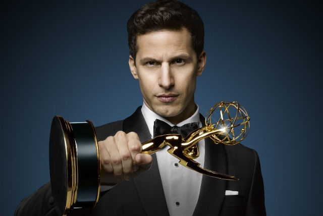Andy Samberg, your master of ceremonies for the 67th Emmy Awards