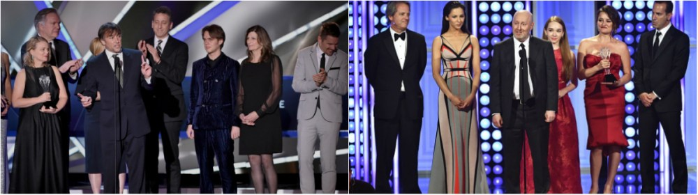 Critics Choice Winners from last year - Boyhood and The Americans