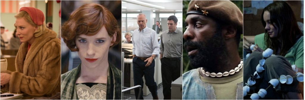 Carol, The Danish Girl, Spotlight, Beasts of Nation and Room will all appear at MVFF38