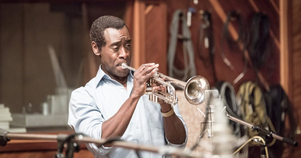 Don Cheadle in this year's NYFF closer, Miles Ahead