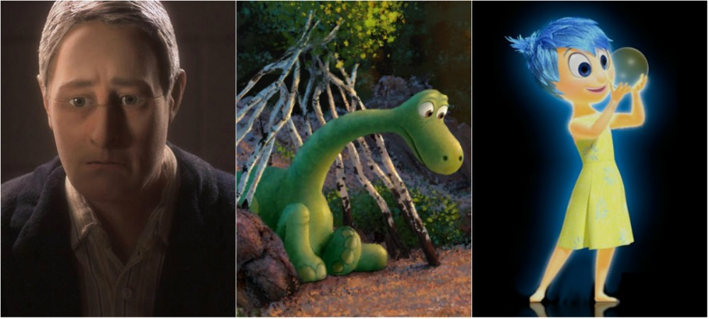Anomalisa, The Good Dinosaur and Inside Out Get ANNIE Love