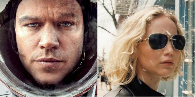 Can The Martian and Joy find their way back to the awards season?