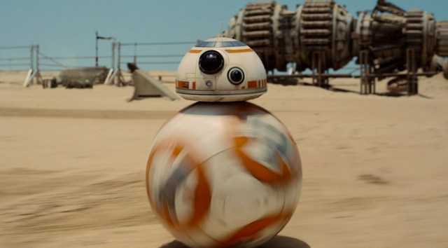 BB-8 helps Star Wars: The Force Awakens win big at the VES