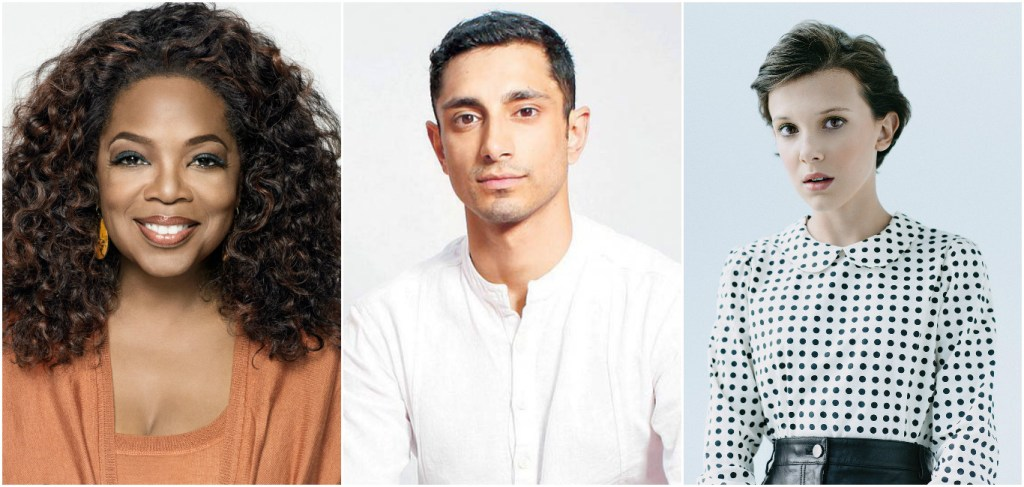 Oprah Winfrey, Riz Ahmed and Millie Bobby Brown will chat about their craft for Variety and PBS