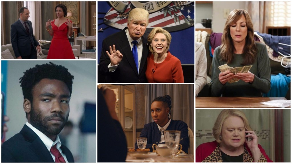 Veep, Saturday Night Live, Atlanta, Master of None are all poised for Emmy wins